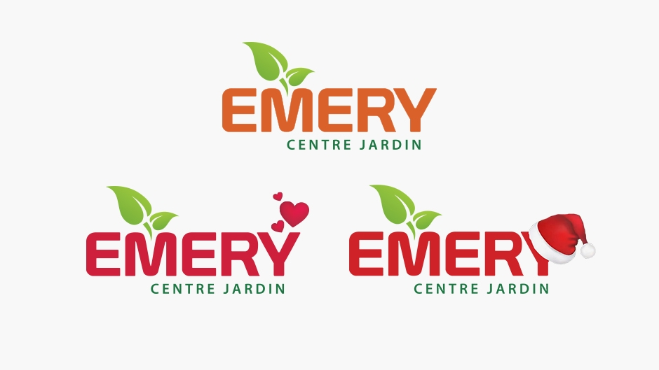 Emery centre jardin alexandre guilbeault design for Jardin logo